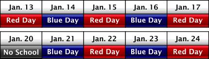 weekly schedule image