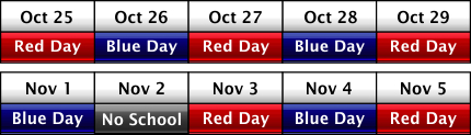 color day schedule