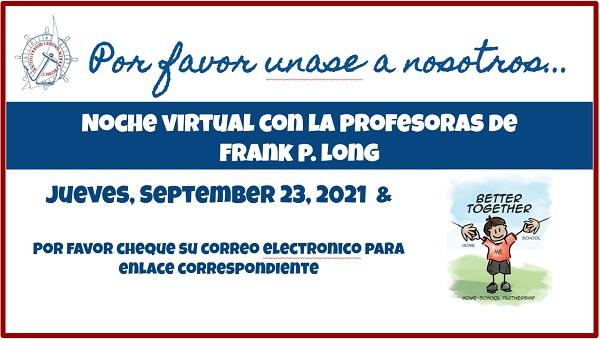 meet the teacher graphic - spanish