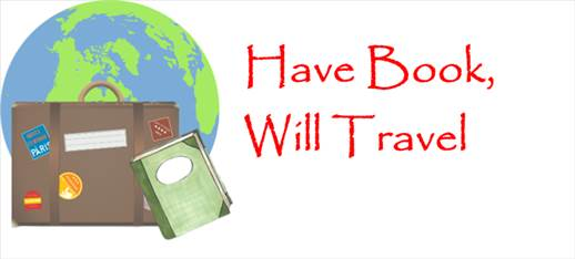 have book will travel graphic
