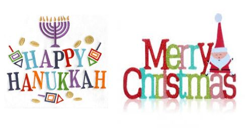 hanukkah and christmas image