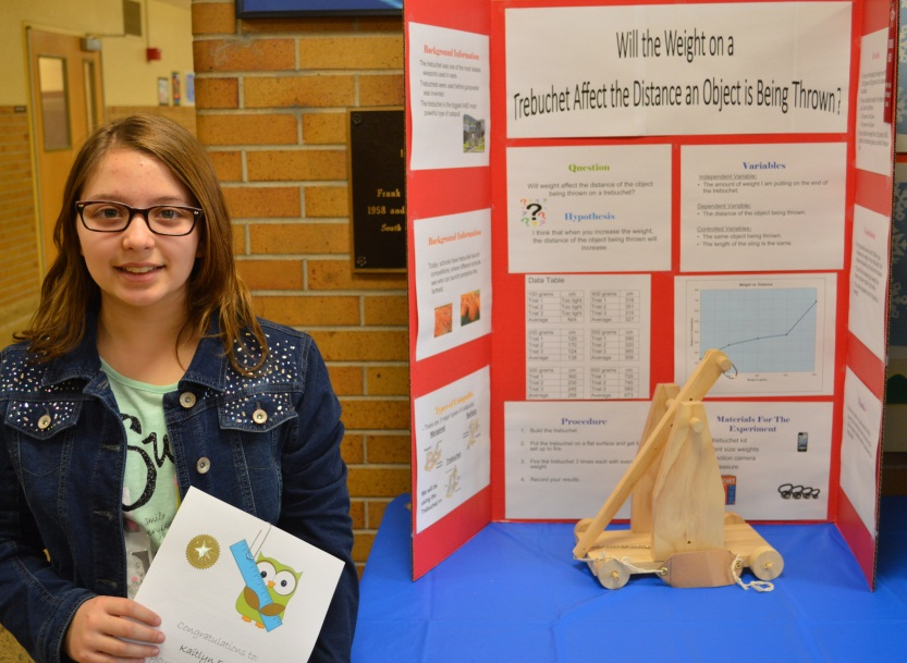 Frank P Long Science Fair Winners
