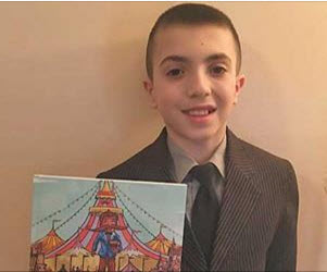 Fifth Grade Student Soon-to-be Second Time Author