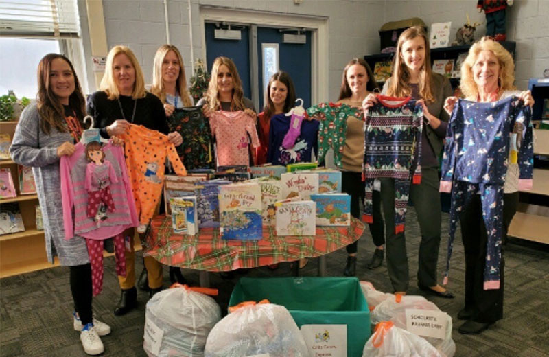 Critz Cares Committee Holds Pajama Drive
