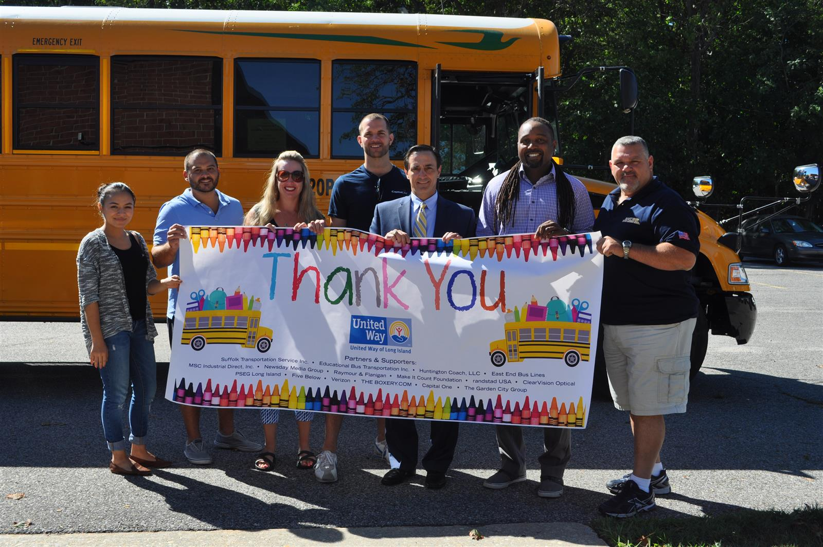 """Stuff-a-Bus"" Makes a Stop at South Country"
