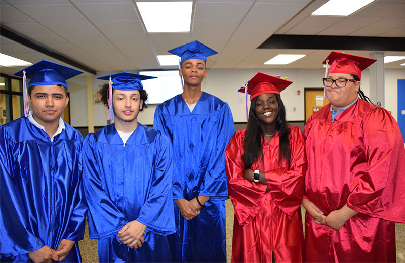 Bellport HS Summer Graduates Celebrated