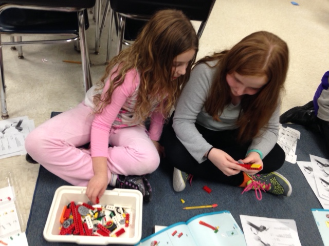 Kreamer St Students Learn Through Legos