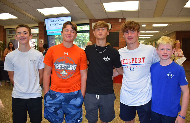 Class of 2023 Attends Bellport HS Freshman Orientation