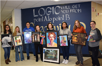 Bellport HS Art Students Featured Winners at BAFFA