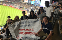 New York Blood Services Recognizes Bellport High School's  National Honor Society photo thumbnail97104