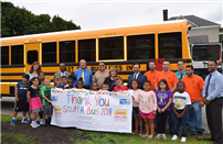 District Students Receive Donations of School Supplies photo