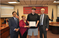 Board of Education Congratulates Commended Student  in the 2018 National Merit Scholarship Program photo