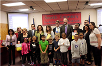 School Board Honored For Commitment To Children photo