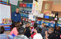 NYS Regent Roger Tilles Visits South Country Schools photo