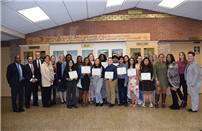 Bellport HS Students Inducted into Center of Excellence photo thumbnail142989