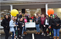 Bellport HS Center of Excellence Receives Donation from Brookhaven 7-Eleven photo