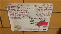 Verne Critz Students Save the Eagles Photo 2