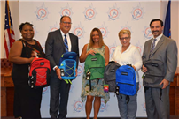 District Students Receive Donations of School Supplies photo 2