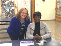 pictured, Compass Unity members, Lynette Murphy and Nita Webb thumbnail53175