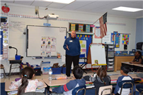 NYS Regent Roger Tilles Visits South Country Schools photo 3