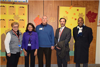 NYS Regent Roger Tilles Visits South Country Schools photo 4