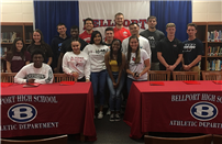 Bellport High School Athletes to Continue their Sports photo