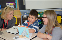 An author celebration at Verne W. Critz Elementary photo