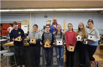 Learning Construction by Making Bird Houses photo thumbnail118018