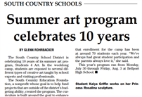Summer art program Pic