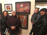 South Country Art Students Exhibit at COLORS photo 2