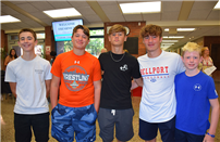 Class of 2023 Attends Bellport HS Freshman Orientation photo thumbnail133203