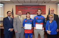 South Country Schools Honored Top Wrestlers photo thumbnail118606